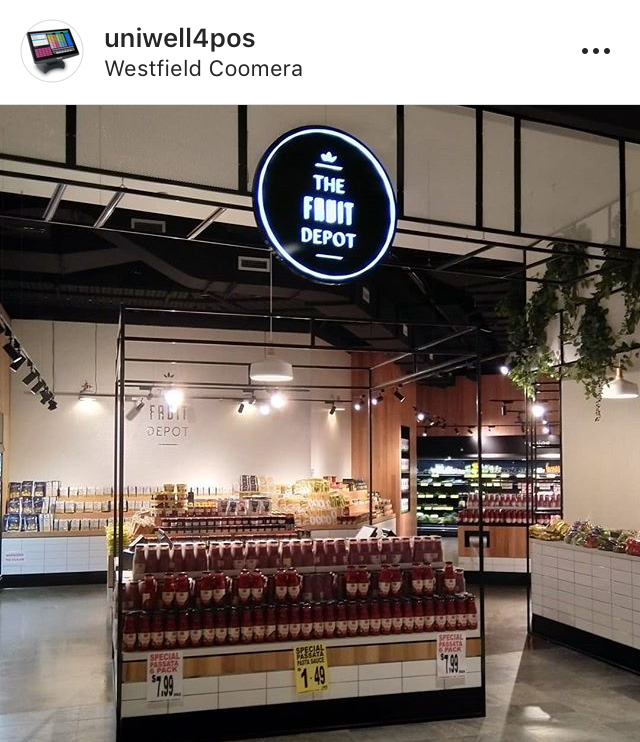 Uniwell Lynx Fruit Depot Install