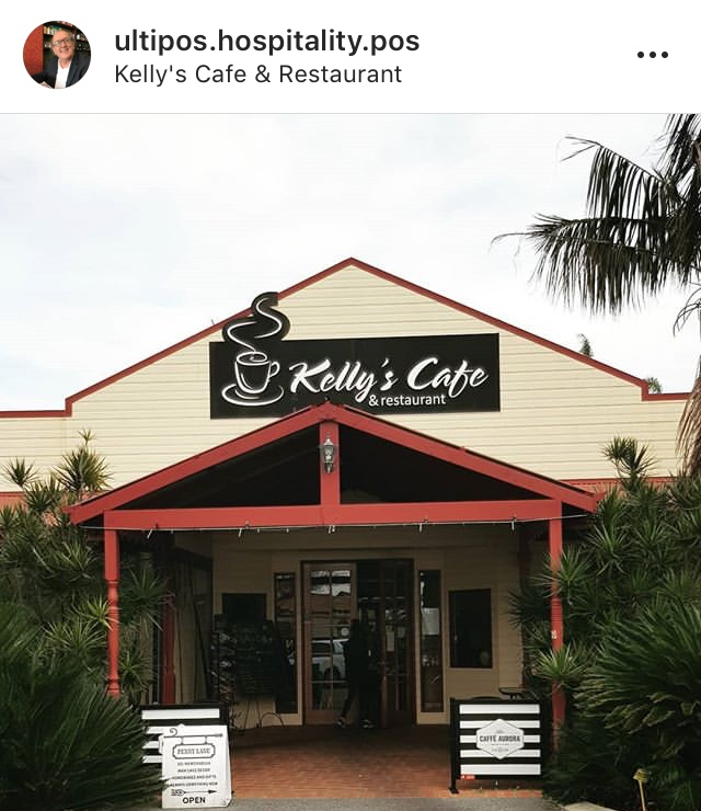 Kelly's Cafe and Restaurant Uniwell Lynx