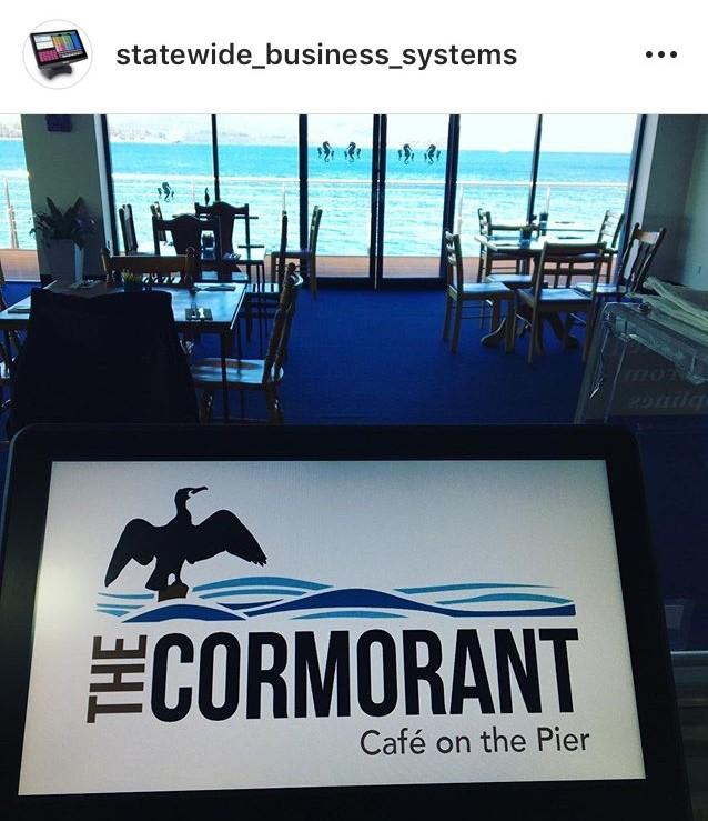 The Cormorant Cafe Uniwell Lynx Install